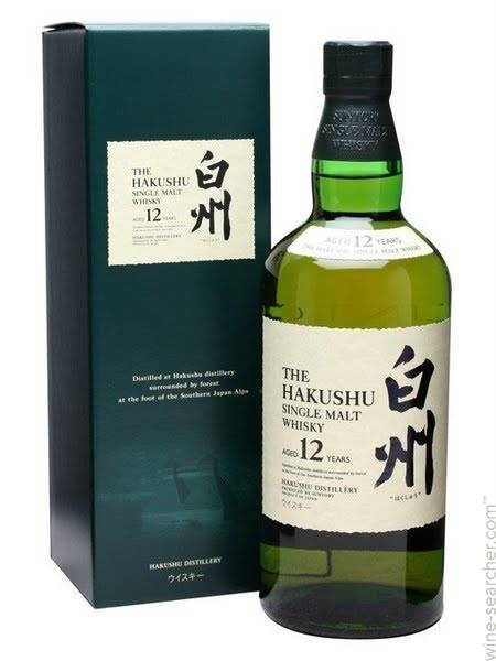 白州 12年日本單一麥芽威士忌 Hakushu 12 Years Old Japanese Single Malt